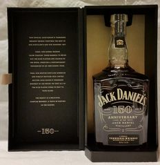 Jack Daniel's 150th Anniversary Limited Edition Whiskey