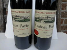 1979 Chateau Pavie, Grand Cru Classé Saint-Emilion - 2 Flessen