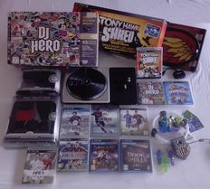 Lot of 10 Playstation 3 games + accessories (Tony Hawk's Shred, DJ Hero, Skylanders Trap Team and more)