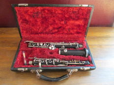 Wooden oboe made by the brothers Prince - Antwerp