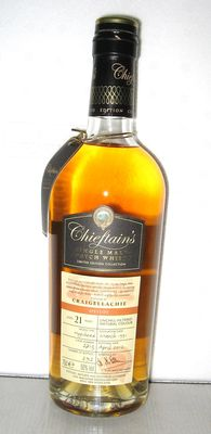 1991 Craigellachie 21 Years Old- Speyside - 70cl. - 50% - Chieftain's