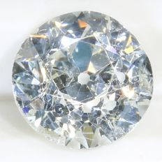 Certified brilliant cut diamond 0.73 ct, H - SI2