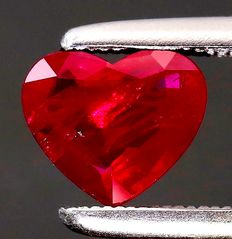 Mogok (Burma) Ruby - 1.54 ct - no reserve price