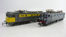 Jouef/Lima H0 - 2 Multifunctional electric locomotives Series 1300 of the NS