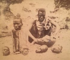 J. Barbier (19th century) – Decapitated humans in Senegal