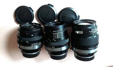 Bronica lenses with adapters for Canon EOS Digital