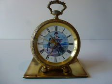 Reuge pocket watch with chime as alarm clock – 20th century