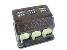 ROVO dice game, automatic, antique, Bakelite with original packaging and manual.