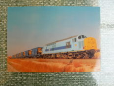 Spain – France train postcards 225 x