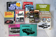 10 pieces car and motorcycle books