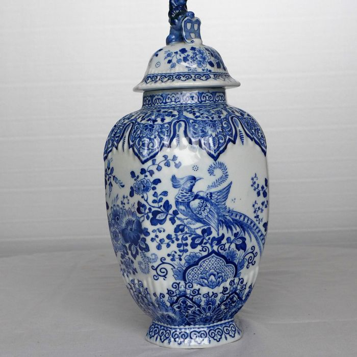 Delft Blue Vase With Lid Catawiki