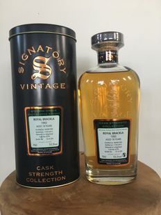 Royal Brackla 18 years old 1993 Signatory Vintage