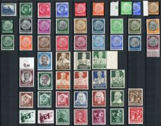 Germany 1930/36 - Selection between Michel 452 and 623