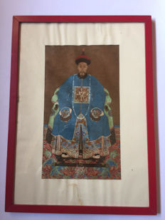 Portrait of Emperor – Qing Dynasty – mid-20th Century