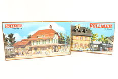 Vollmer H0 - 3515/3520 - 2 stations