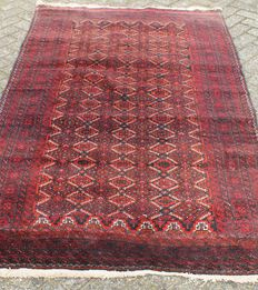 No reserve price Hand-knotted carpet – 230 x 128 cm – Turkmenistan – 2nd half 20th century