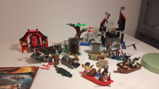Pirates of the Caribbean / Indiana Jones / Orient Expedition / Pirates / Castle - 5 sets o.a. 4181 + 6075 - Isla De Muerta + Wolfpack Tower
