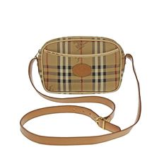 Burberry – Shoulder bag with check pattern