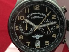 Sturmanskie Space Pioneers Chronograph – Men's wristwatch – Unworn, in new condition