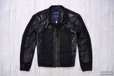 Armani Jeans - 30' Anniversario Leather Spring Jacket