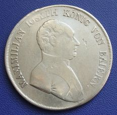 Old Germany, Bavaria - convention thaler 1808 - silver