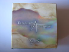 Australia – 1 Dollar 2008 'Treasures of Australia – Opals' 1 oz silver