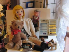 Up for auction: vintage dolls, cuddly toys and accessories
