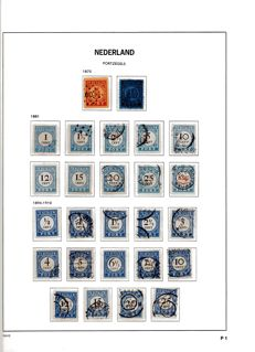 The Netherlands 1870/1958 - Stamp collection