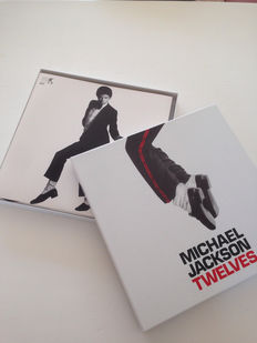"Michael Jackson Twelves Promo Limited Edition 12"" Single Box Set (UK) - Epic ‎– XPR 3744"