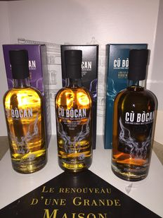 3 bottles - Cu Bocan by Tomatin (bourbon cask, virgin oak & exotic spices)