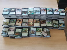 Magic the gathering trading cards around 7600 cards