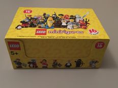 Collectible Minifigures - 71013 - Minifigure Series 16 - Complete box of 60 bags