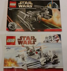 Star Wars - 8017 + 8084 - Darth Vader's TIE Fighter + Snowtrooper Battle Pack