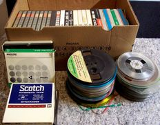 Lot of 52 Audiotapes - Basf - TDK - Philips - Sony