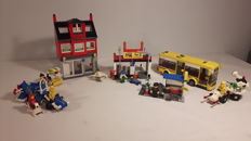 City / Classic Space - 7641 + 7643 + 6874 + 6849 - City Corner + Air Show Plane + Moon Rover + Satellite Patroller