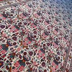 Very special, XL, Kerman, Persian runner - 370 x 120 - wonderful appearance and remarkable  design