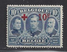 Belgium 1918 - Red Cross - OBP 163