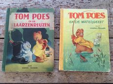 Marten Toonder; Lot with 2 adventures of Tom Puss - 1948 / 1950