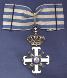 San Marino. Cross of Grand Officer and Commander of the Order of San Marino.