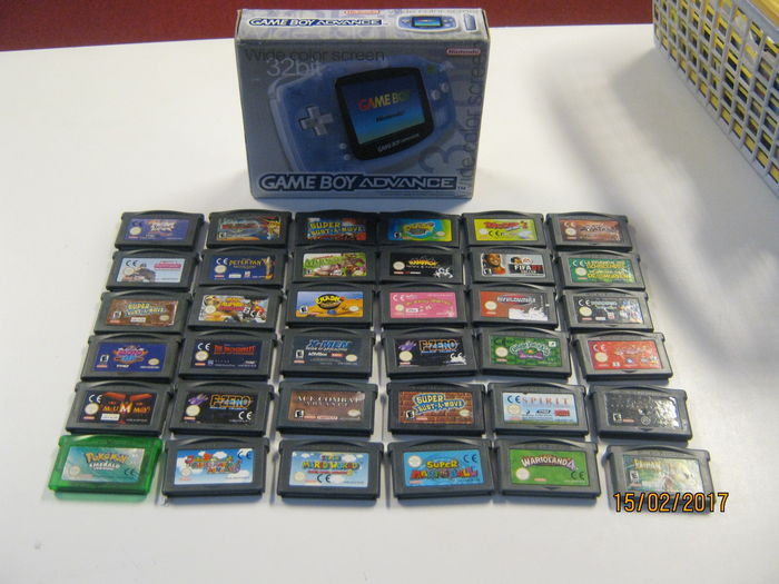 New Nintendo Gameboy advance boxed incl 36 gba games like