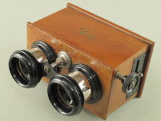 ICA Stereo viewer for glass plates