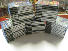 Lot of 50 good Playstation 2 games (Ratchet and clank 2+3,Jak and daxter,Narnia,Manhunt,Mark of kri,Tekken 6,Mortal kombat,etc)