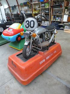 Kiddy ride motorcycle
