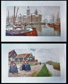 Two prints of Henri Cassiers (1858 - 1944) - Marken en Amsterdam