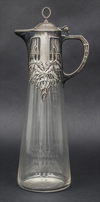 WMF - Art Deco stein with tin mounting
