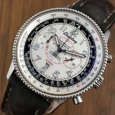 "Breitling Montbrillant Limited Edition "" 100 ans d`Aviation "" Navitimer Automatic Men´s Watch -2005"