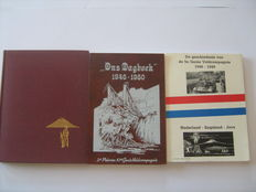 The Dutch East Indies; Lot with three regimental books of the KNIL - 1950
