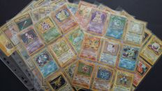 2,215 Pokemon Cards + A Complete Base Set 102/102 From 1999 - English - 1999/2016