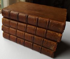 [Richard Steele] - The lucubrations of Isaac Bickerstaff, Esq. - 4 volumes - 1737