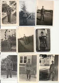 Third Reich; Lot with 105 x original photos, Reichsarbeitsdiens (R.A.D.) WWII